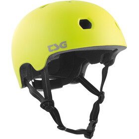 TSG Meta Solid Color Bike Helmet yellow